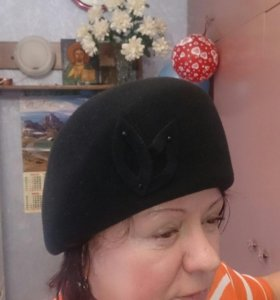 Шляпа женская (Фетр) фабрика Фетровой фабрики