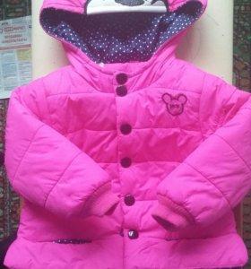 Куртка для девочки. От 1 до 2 лет.