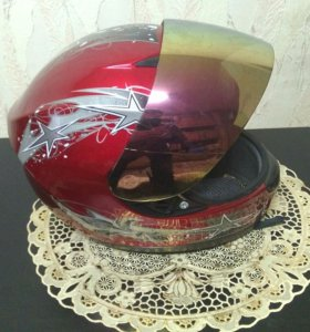 Шлем мотоциклиста