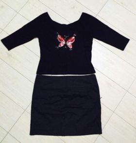 Кофточка Италия, юбка Zara