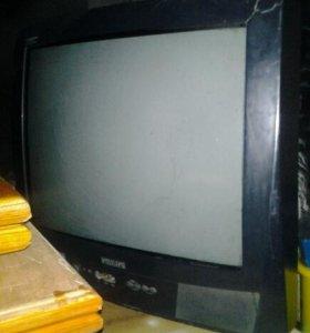 Телевизор рабочий Филипс