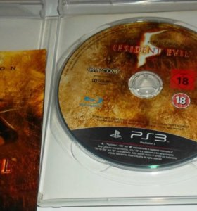 Диск на Playstation 3 Resident Evil 5 Gold edition