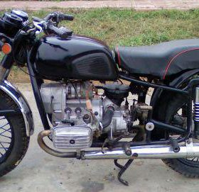 Мотоцикл Днепр 12В