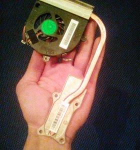 Термотрубка+кулер для ноутбука Asus