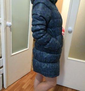 Зимний пуховик для беременных