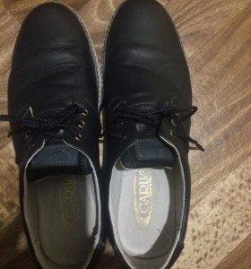 Ботинки мужские натур кожа