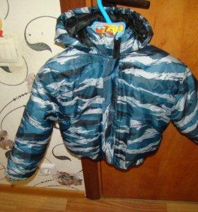 Комплект куртка+полукомбез милитари