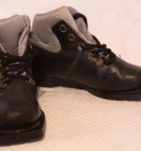 Лыжные ботинки б/у 34