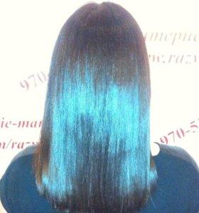 Ботокс для волос, термокератин