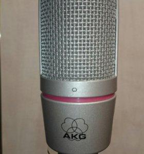 Студийный микрофон AKG C2000b