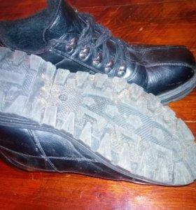 Ботинки чёрные осень - зима