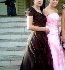 Выпускное платье+подъюбник