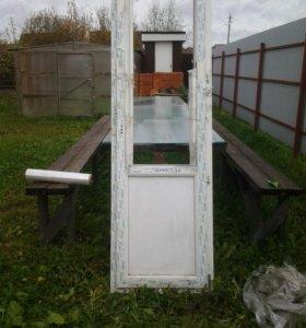 Дверь ПВХ.