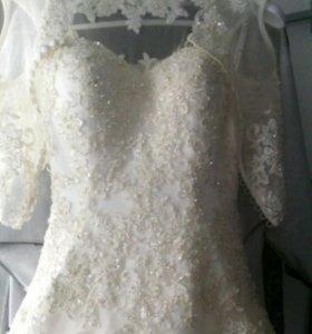 Б/у 1 день. Свадебное платье трансформер