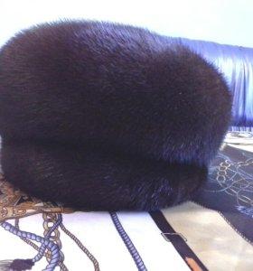Шапка  Бригит, из норки,57 размер