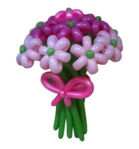 Фигуры и цветы из воздушных шаров