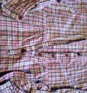 Рубашка вклетку