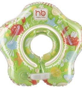 Happy baby Детский надувной круг на шею НОВЫЙ