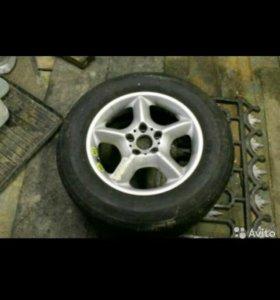 Запасное колесо на BMW X5