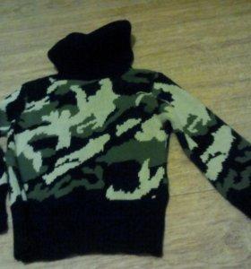 Теплый свитерок на зиму
