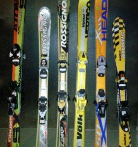 Горные лыжи детские и взрослые