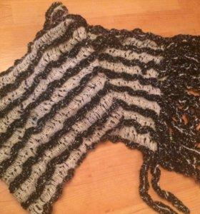 Тёплый зимний шарф