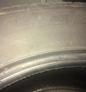 Шины Bridgestone 275/60R20