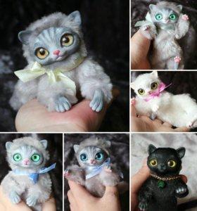 Котята Интерьерные игрушки