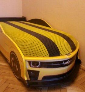Кровать машина Шевроле-Камаро