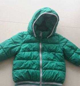 Куртка H&M 12мес