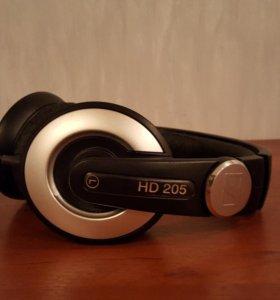Наушники sennheiser HD 205