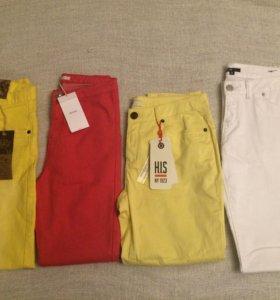 Новые джинсы и брюки