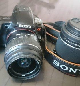 Зеркальный фотоаппаратSONI a 35