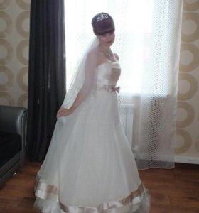 Продам милое свадебное платье
