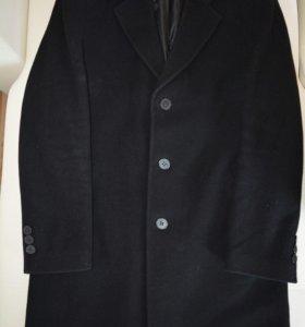 Классическое мужское шерстяное пальто