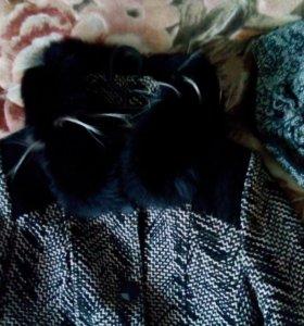 Пальто + шапка в подарок