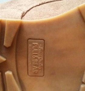 Замшев ботинки