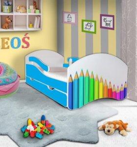Новая кровать 160x80