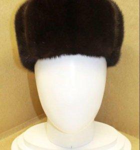 мужская норковая шапка формовка