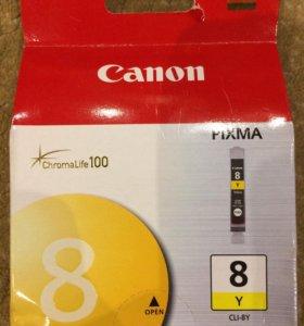 Катриджи Canon CLI-8C ,CLI-8Y,CLI-8BK