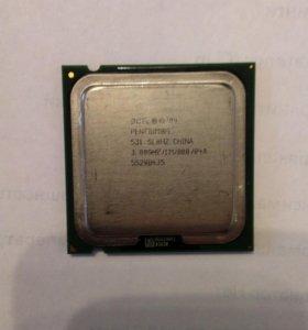 Процессор Intel Pentium 4 531 sl8hz
