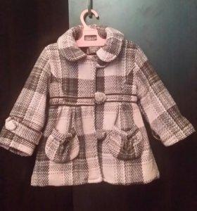 Детское теплое пальто