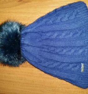 Теплая шапка с флисовой подкладкой