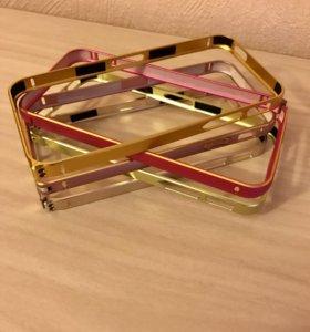 Металлические бампера для iPhone 5/5S