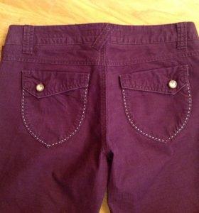 Джинсы- брюки под вельвет 100% хлопок