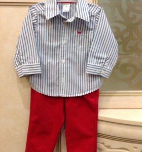 Рубашка и брюки Carter's