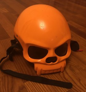 Мото Шлем череп!