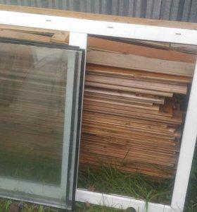 Пластиковое окно 1х1.2м