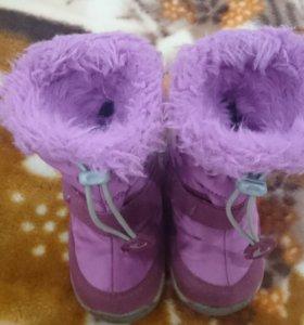 Зимние ботиночки Viking