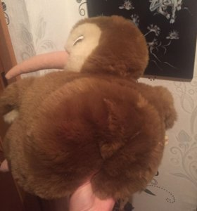 Детский рюкзак птичка киви с кармашком
